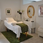 Interiör hos akupunktör
