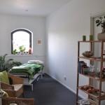 Behandlingsrum i nya längan på bottenvåning